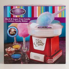 Retro Cotton Candy Machine at Cost Plus World Market >>  #WorldMarket Movie Night Giveaway Sweepstakes - http://sweeps.piqora.com/worldmarket
