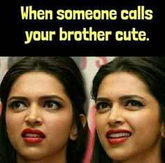 Deepika Padukone Funny Jokes - Oh Yaaro Latest Funny Jokes, Very Funny Jokes, Really Funny Memes, Funny Facts, Funniest Memes, Hilarious Jokes, Crazy Funny, Sister Quotes Funny, Cute Funny Quotes