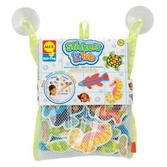 Amazon.com: ALEX® Toys - Bathtime Fun Stickers For The Tub - Beach Buddies 633W: Toys & Games