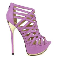 Peep-toe Platform Pump Strappy Stiletto #Heels