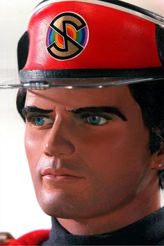 Captain Scarlet...this show scared the bejeezus outa me, especially the start with the mysterons and the cat