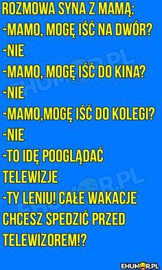 Crazy Funny Memes, Wtf Funny, Funny Cute, Funny Stories, True Stories, Polish Memes, Funny Mems, Text Memes, Good Jokes