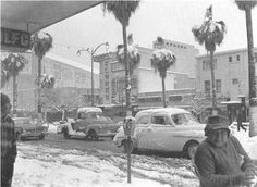 El día que nevó en la Ciudad de México. Enero de 1967