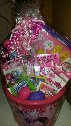 Diy my little pony easter basket can get mlp stickers to my little pony easter baskets negle Image collections