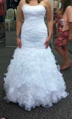New With Tags David's Bridal Wedding Dress Size 8
