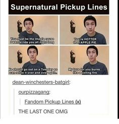 Supernatural who is this guy I think I'm in love