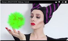 Are you going to be one of the fabulous that choose Maleficent as your Halloween costume? Do it justice with amazing makeup worthy of Angelina Jolie's jutting cheekbones.  #halloween #halloweenmakeup #angelinajolie #maleficent #Halloweencostume #diy #howtovideo #makeuptutorial @BeautySauce