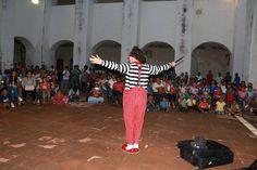 """Espectáculo circense de """"Rulo Clow"""" se presenta en el marco de la semana cultural Sandunga 2017"""