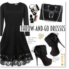 Throw And Go Dresses