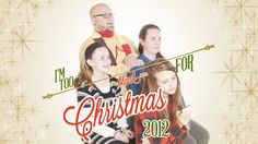 "Packaging for our Christmas Series, ""I'm Too _____ For Christmas."" Package also includes four short videos that feature the family from the photo. We wanted this to be quirky, and a little awkward, but mimic a family holiday greeting card. PCCFW.org"