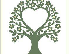 Wedding Tree svg, Wedding invitation SVG, Tree svg, printable diy wedding, save the date illustration, SVG, download