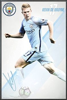 Manchester City  Framed Soccer Poster  Print Kevin De Bruyne 17  20162017 Size 24 x 36 >>> Check out this great product.Note:It is affiliate link to Amazon. #followher