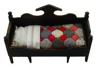 Sleep Tight: Doll Quilts and Beds Contest.  I love the little bed.  I've never seen one like it!  Beautiful