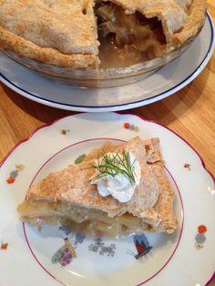 fennel apple pie