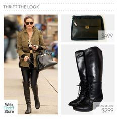 Olivia Palermo is an icon of Style! Follow her lead with this great thrift selection. Start your bargain hunting on WebThriftStore, add new treasures at your wardrobe while supporting dozen of charities!