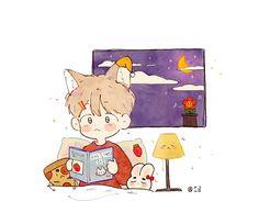 Chibi, Family Guy, Snoopy, Fan Art, Guys, Artist, Fictional Characters, Illustrations, Fanart