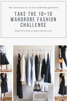 Do you want to get more wear out of your handmade garments? Do you feel lost or bored with what hangs in your closet? The 10×10 wardrobe challenge might be just the thing to re-inspire your wardrobe. #sewingproject #sewinglove #happysewing #sewcialists #makersgonnamake #ilovesewing #makeitsewcial #sewist #millennialsewing #sewing #isew #instasew #sewersofinstagram #sewistsofinstagram #diy #diyfashion #makersgonnamake #diywardrobe #memade #memadeeveryday #psimadethis