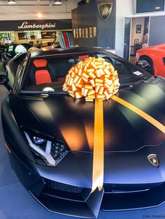 Not a bad gift, stealth Aventador. Somebody is doing it right.