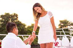O Pedido de casamento à Bordo