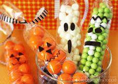 Resultado de imagem para centro de mesa halloween infantil