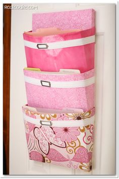 Organizing Ideas for office organization using a DIY mail sorter from realcoake.com #Organization #Office #DIY #Crafts #Sewing