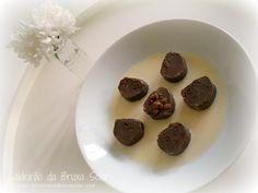Receitas do Caldeirão da Bruxa Solar: Nhoque de chocolate com calda de coco