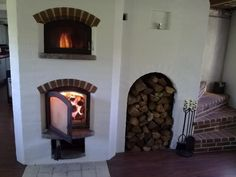 Russian stove / oven Russian oven Masonry heater Build together with staircase