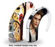 Skins for customizing cochlear implant processors.  You can even design your own!