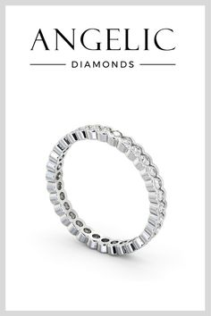 Sometimes less is more. And that's certainly true when it comes to this diamond wedding ring. A simple white gold band speckled with gemstones, this wedding ring with diamonds is beautifully elegant. Diamond Choker, Round Diamond Ring, Diamond Jewellery, Round Diamonds, Eternity Rings, Eternity Ring Diamond, Diamond Wedding Rings, Elegant Wedding Rings, Beautiful Diamond Rings