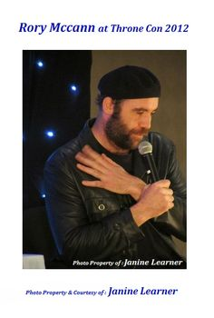 Rory McCann @ Throne Con I 2012 Photo Property of : Janine Learner