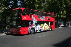 Who wants a 360° view of Madrid? Well you'll get one aboard the red Madrid City Tour open top buses. https://www.cityxplora.com/products/madrid-city-tour