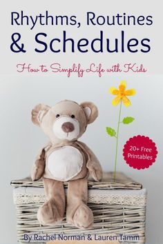 Rhythms, routines, and schedules are necessary when you have kids - especially when you have more than one kid! Simplifying life with kids starts here. Toddler Preschool, Toddler Activities, Toddler Learning, Learning Activities, Teaching Ideas, Parenting Advice, Kids And Parenting, Foster Parenting, Practical Parenting
