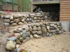 Michigan Boulder Retaining Wall