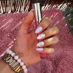 #new #nails #marmurki #semilac # lawenda #manicure #mani #nailart #mynails #lipgloss #sephora #my #favourite http://ameritrustshield.com/ipost/1550089852800041493/?code=BWDBoImFYIV