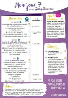 Diabetes diet 495255290263199231 - semaine de menus simpl'express Source by petoulet Weight Watchers Menu, Weight Loss Menu, Weight Loss Blogs, Menu Express, Weight Warchers, Menu Simple, Vigilante, Low Carb Diet Plan, Healthy Menu