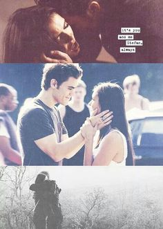 Stefan and Elena!!
