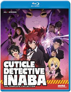 Cuticle Detective Inaba Blu-ray Complete Collection (S)