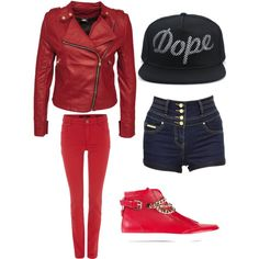 BTS Dope concept J-Hope by hernandeznatalia on Polyvore featuring polyvore, fashion, style, Oui, Jane Norman and Dsquared2