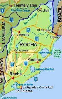 Rocha River | #GeologyPage