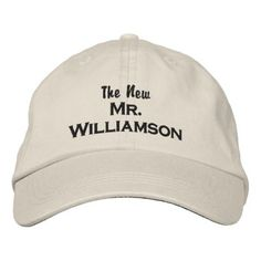 Custom Personalized Stone Embroidered Baseball Cap - create your own gifts personalize cyo custom Embroidered Baseball Caps, Embroidered Hats, Personalized Bridal Party Gifts, Camping Hair, Embroidery Materials, Engagement Party Decorations, Iron Decor, Monogram Wedding, Father Of The Bride
