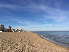 Playa de Gandia. España.