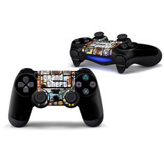 >> Click to Buy << 2PCS hot sell for PS4 Playstation 4 slim console controller protective skin sticker GTA5 #Affiliate