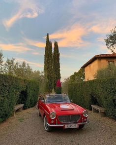 Pretty Cars, Cute Cars, Retro Aesthetic, Summer Aesthetic, Studio Decor, Classy Cars, Northern Italy, Jolie Photo, Car Pictures