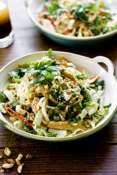 chinese chicken cabbage salad The Clever Carrot