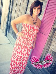 Cowgirl Clad Company - Red Print Maxi, $36.00 (http://www.cowgirlclad.com/red-print-maxi/)