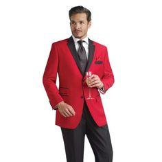 Men's Red Dinner Jacket