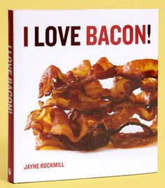Bacon lovers cook book. I want this, but I also want to buy this for my cousin's Christmas present.