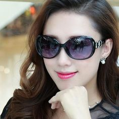 7c3bb52cef031 Driving Sun glasses Luxury Ladies Designer white red black Women Sungl –  nantahalas Óculos De Sol