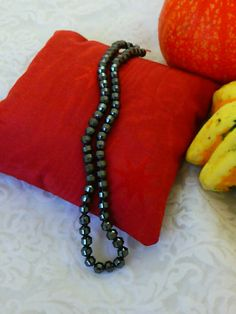 6mm Natural Hematite Nugget Beads  15 Strand by SkullMoto on Etsy, $2.25