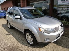 Mitsubishi Outlander 2000 DI-D Instyle Lederausstattung as Off-road Vehicle/Pickup Truck in Ahlerstedt